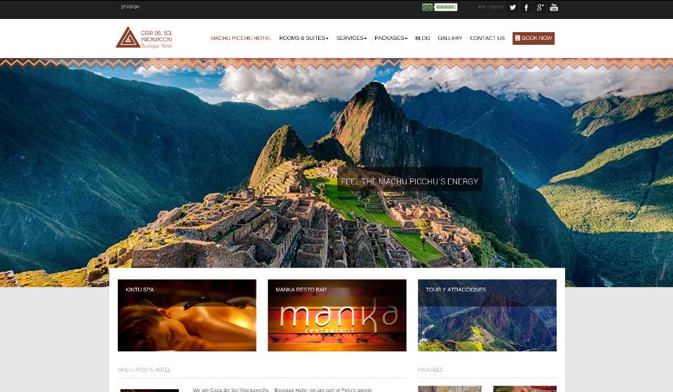 Casa Del Sol website sml